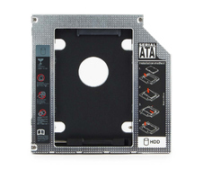 "Карман для HDD/SSD SATA 2.5""  12 mm Gembird (MF-95-02)"