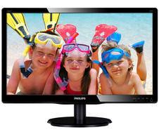 "21.5"" TFT Philips 226V4LAB/00 (TN/1920x1080/5 ms/250 кд/м2/DVI/VGA/2x2W) Black"