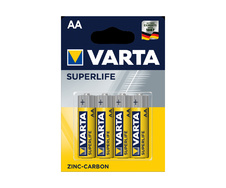 Батарея E (6LF22, 9V) VARTA Superlife Zinc Carbon (556427) 1шт