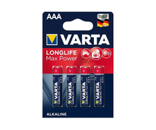 Батарея AAA VARTA Longlife Max Power (104734) (4шт/уп) 1 шт