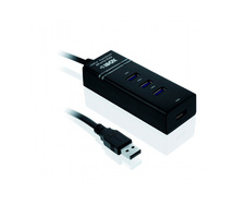 HUB USB 3.0 4 port I-BOX (IUH3FB)