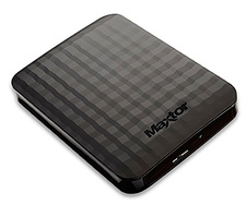 "HDD Ext 2TB 2.5"" Maxtor M3 Portable (STSHX-M201TCBM) USB 3.0 Black"